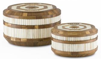 Banjhara Round Box Set of 2 (92|1200-0286)