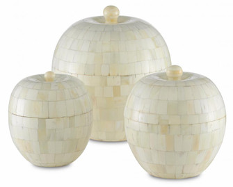 Mughal Round Box Set of 3 (92 1200-0284)