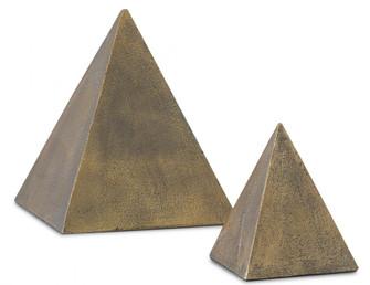 Mandir Brass Pyrimid Set of 2 (92|1200-0274)