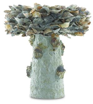 Oyster Shell Small Bird Bath (92 1200-0052)