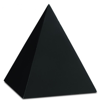 Black Large Concrete Pyramid (92 1200-0047)