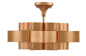 Grand Lotus Gold Small Chandelier (92 9944)