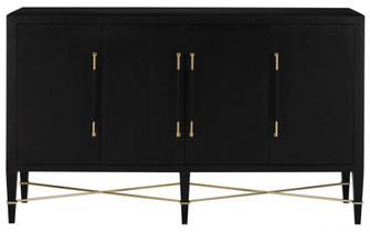 Verona Black Sideboard (92|3000-0037)