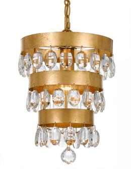 Perla 1 Light Antique Gold Mini Chandelier (205|6103-GA)