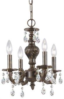 Paris Market 4 Light Spectra Crystal Bronze (205 5024-VB-CL-SAQ)