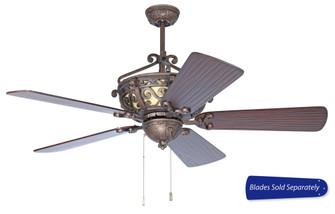 52'' Ceiling Fan, Blade Options (20|TO52PR)