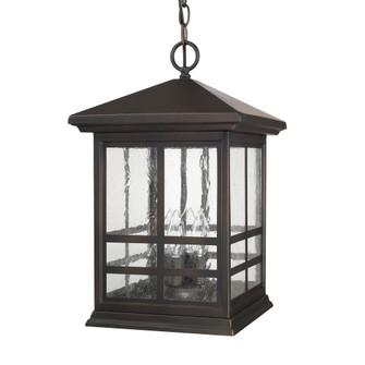 4 Light Outdoor Hanging Lantern (42 9914OB)