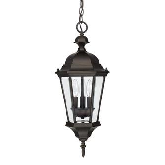 3 Light Outdoor Hanging Lantern (42 9724OB)