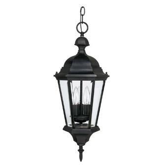 3 Light Outdoor Hanging Lantern (42 9724BK)