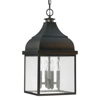 4 Light Outdoor Hanging Lantern (42 9646OB)