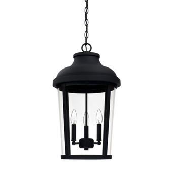 3 Light Outdoor Hanging Lantern (42 927033BK)