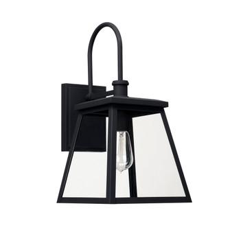 1 Light Outdoor Wall Lantern (42 926812BK)