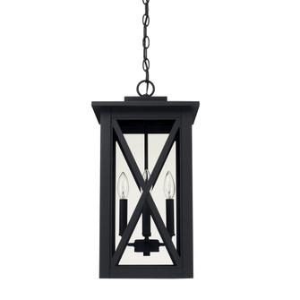 4 Light Outdoor Hanging Lantern (42|926642BK)