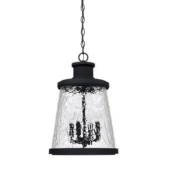 4 Light Outdoor Hanging Lantern (42|926542BK)