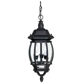 3 Light Outdoor Hanging Lantern (42|9864BK)