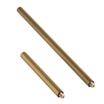 Antique Brass Ext Pipe (1) 6'' and (1) 12'' (314|PIPE-101)