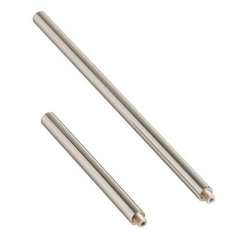 Polished Nickel Ext Pipe (1) 6'' and (1) 12'' (314|PIPE-100)