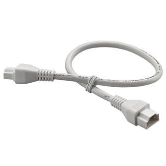12 in. White Linking Cord (245 LEDLC12WH)