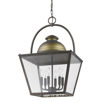 Savannah 6-Light Pendant Lantern (245 IN11366ORB)