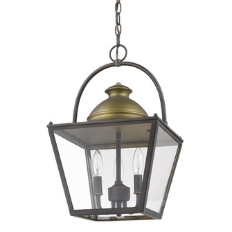Savannah 2-Light Pendant Lantern (245 IN11365ORB)