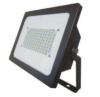 120-277V Black Integrated LED Adjustable Floodlight (245|1423BZ)