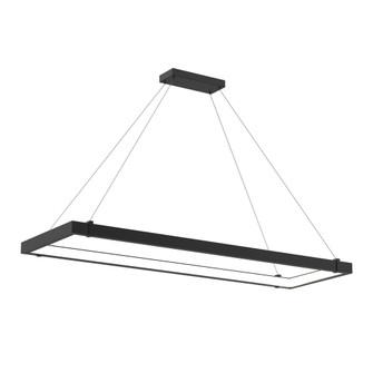 MUCCI,RECT LED PENDANT,BLACK (4304 38138-010)