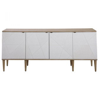 Uttermost Tightrope 4 Door Modern Sideboard Cabinet (85 25101)