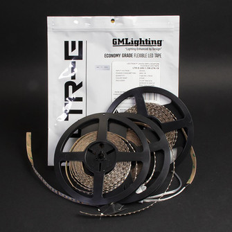 LEDTask™ 2020 12VDC LTR-E Economy Series Indoor Location LED Tape - 16'-4'' Reel (674|LTR-E-12V-1.5W-GR-16)