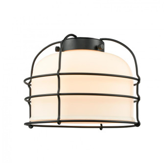Large Bell Cage Glass (3442 G71-CE)
