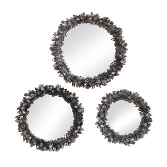 Uttermost Galena Round Mirrors, S/3 (85 09636)