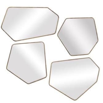 Uttermost Linneah Modern Mirrors, S/4 (85 09616)