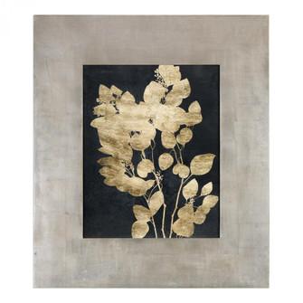 Uttermost Custom Postage Leaves Gold Foil Print (85 41569)