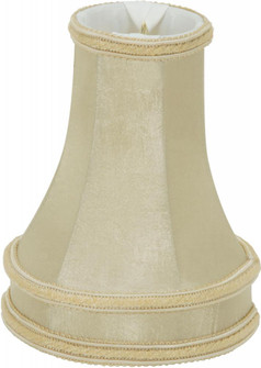 BEIGE LEATHER LOOK CLIP ON (27 90/2525)