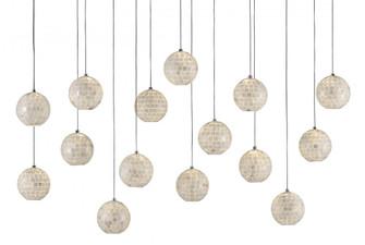 Finhorn Rectangular 15-Light Multi-Drop Pendant (92|9000-0720)