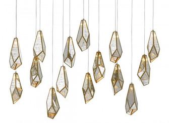 Glace Rectangular 15-Light Multi-Drop Pendant (92|9000-0706)