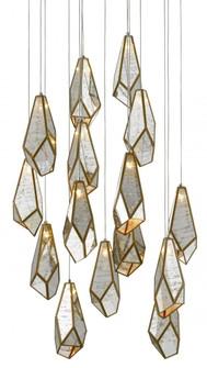 Glace Round 15-Light Multi-Drop Pendant (92|9000-0705)