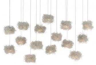 Birds Nest Rectangular 15-Light Multi-Drop Pendant (92|9000-0699)