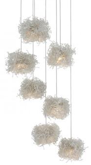 Birds Nest 7-Light Multi-Drop Pendant (92|9000-0697)