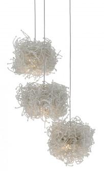 Birds Nest 3-Light Multi-Drop Pendant (92|9000-0696)