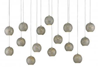Giro Rectangular 15-Light Multi-Drop Pendant (92|9000-0685)