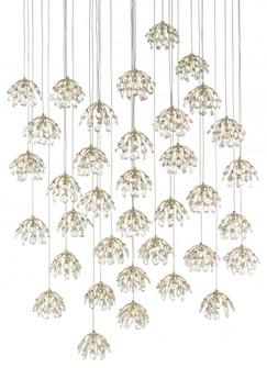 Crystal Bud 36-Light Multi-Drop Pendant (92|9000-0673)