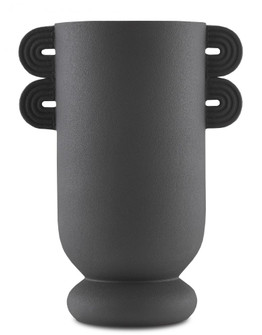 Happy 40 Straight Black Vase (92|1200-0405)