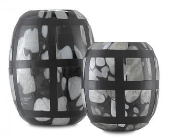 Schiappa Glass Vases Set of 2 (92|1200-0377)