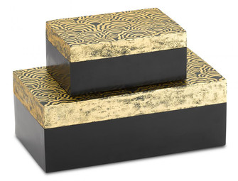 Golden Boxes Set of 2 (92|1200-0374)