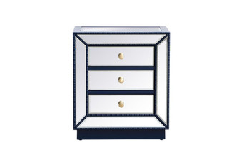 21 inch mirrored chest in blue (758|MF53016BL)