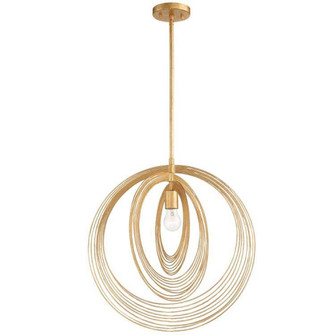 Doral 1 Light Renaissance Gold Pendant (205 DOR-B7711-RG)