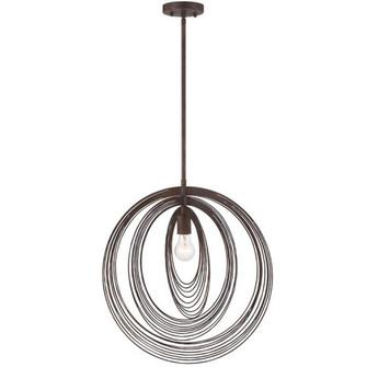Doral 1 Light Forged Bronze Pendant (205 DOR-B7711-FB)