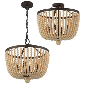 Rylee 4 Light Forged Bronze Ceiling Mount (205 604-FB_CEILING)