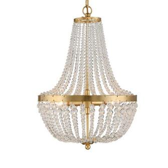 Rylee 3 Light Antique Gold Chandelier (205 603-GA)
