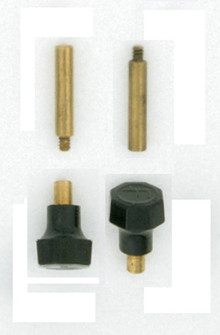 2 KNOBS FOR SHELL SOCKETS (27 S70/161)